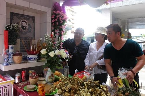 Diễn viên Lý Hùng cùng Lê Tuấn Anh
