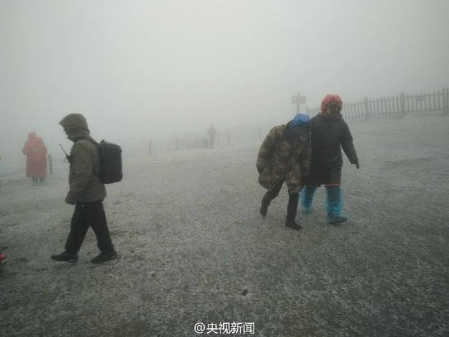 Trung Quốc: Những trận tuyết đầu mùa đẹp đến nao lòng - Ảnh 6.