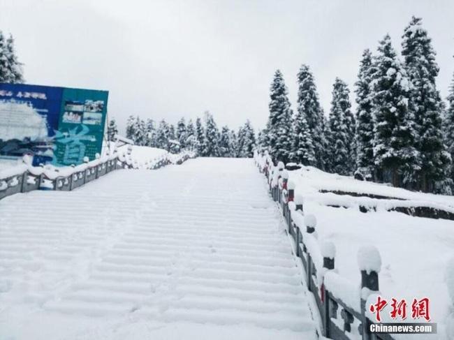 Trung Quốc: Những trận tuyết đầu mùa đẹp đến nao lòng - Ảnh 10.