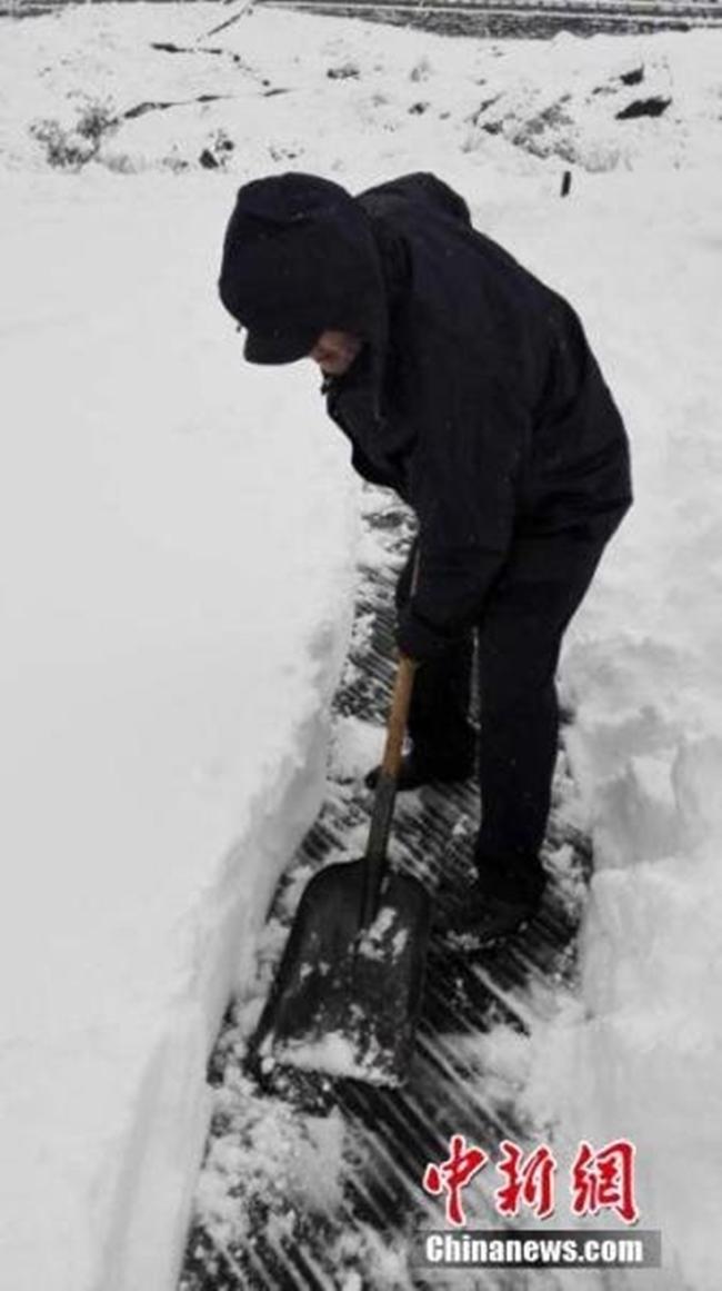 Trung Quốc: Những trận tuyết đầu mùa đẹp đến nao lòng - Ảnh 14.