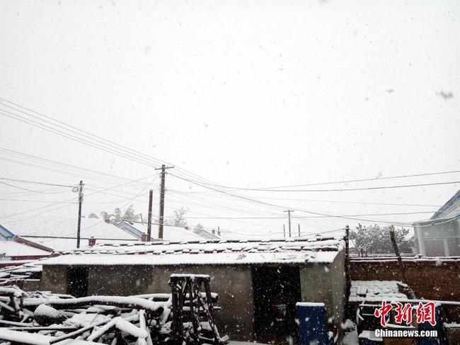 Trung Quốc: Những trận tuyết đầu mùa đẹp đến nao lòng - Ảnh 15.