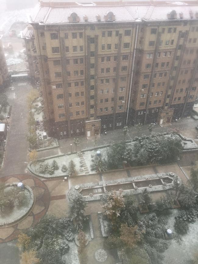 Trung Quốc: Những trận tuyết đầu mùa đẹp đến nao lòng - Ảnh 23.