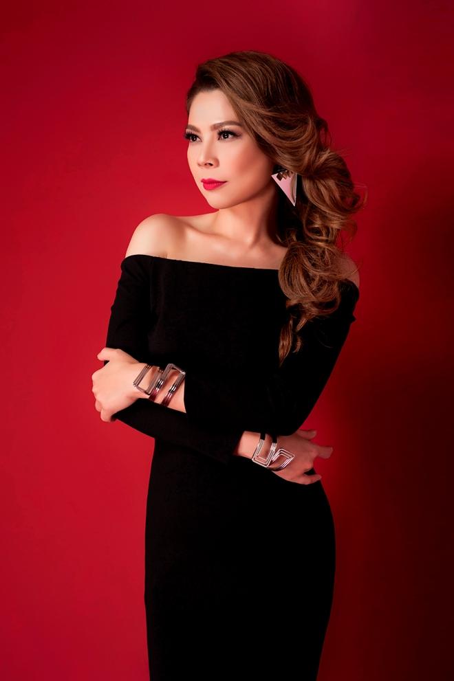 Thanh Thao an tuong voi 2 gam mau den - do hinh anh 5