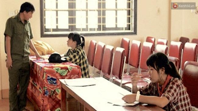 Triệu tập 4 em lớp 9 trong vụ hai nữ sinh bị đánh hội đồng dã man ở Nghệ An - Ảnh 1.