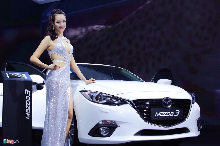 Dan chan dai tai Vietnam Motor Show 2016 hinh anh 11