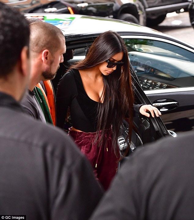 Kim Kardashian hiện đang yên ổn tại Mỹ.