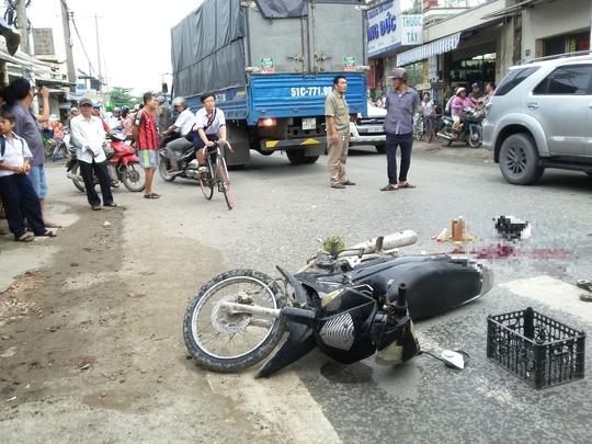Hiên trường vụ tai nạn thương tâm