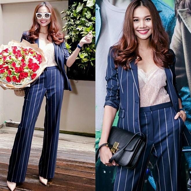 Bo suu tap blazer don thu cua Thanh Hang hinh anh 4