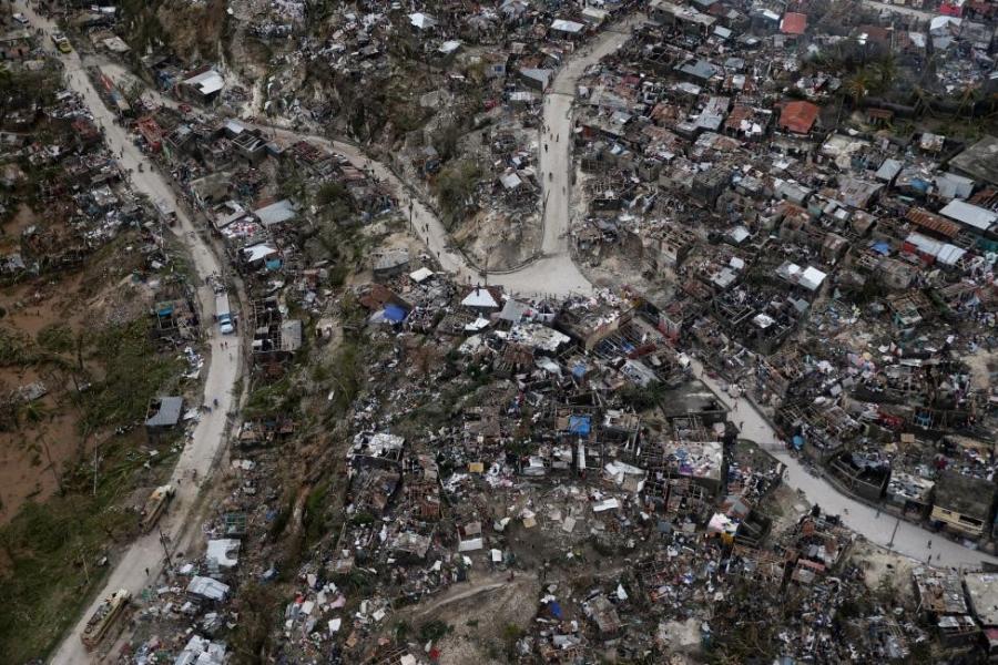 Canh tan hoang nhu thoi chien o Haiti sau bao Matthew hinh anh 5