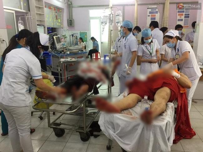 Nghi vấn đối tượng truy sát nhiều người trong chùa Bửu Quang có sử dụng chất kích thích - Ảnh 4.