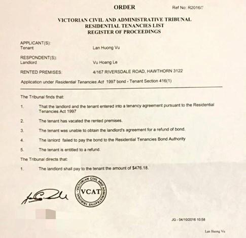 Nhà vô địch Đường lên đỉnh Olympia 2005 bị kiện ra tòa án Úc - ảnh 6
