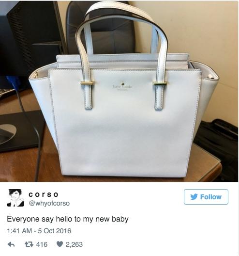 Rõ ràng là chiếc túi xanh nhưng ai cũng bảo nó có màu trắng - Ảnh 1.