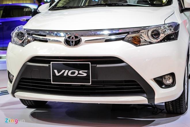 Anh Toyota Vios 2016 gia 532 trieu moi ban o Viet Nam hinh anh 3