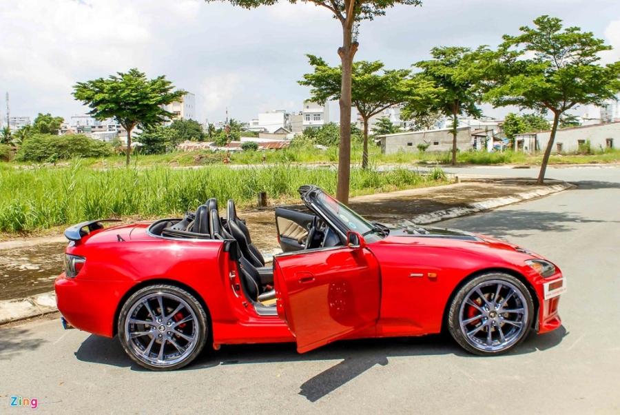 Honda S2000 hang hiem do 700 trieu dong o Sai Gon hinh anh 3