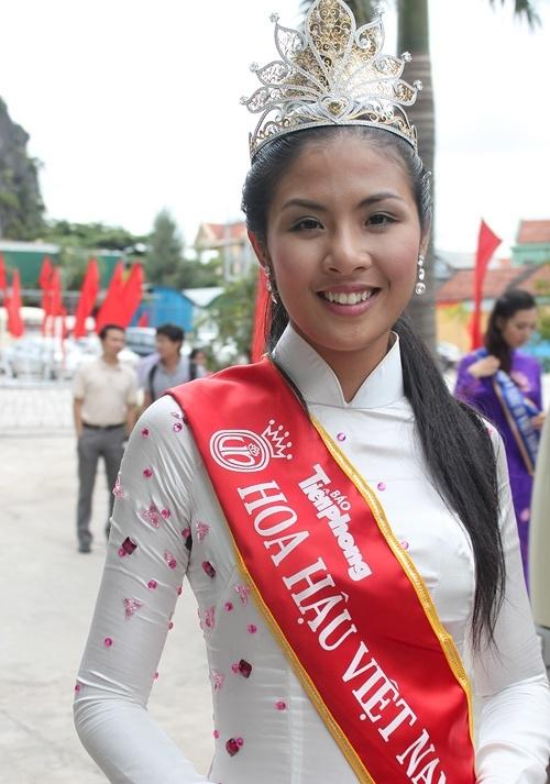 Hoa hậu Việt Nam 2010, Ngọc Hân, Ngọc Hân lột xác