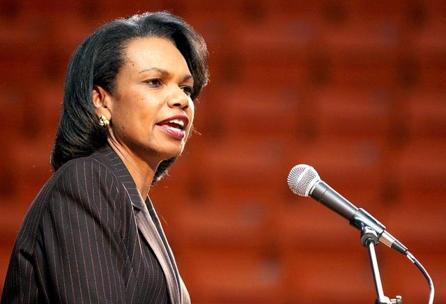 Cựu Ngoại trưởng Mỹ Condoleezza Rice (Ảnh: Pininterest)