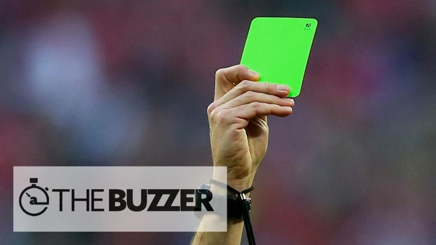 Thẻ xanh đầu tiên của bóng đá thế giới xuất hiện tại Serie B.
