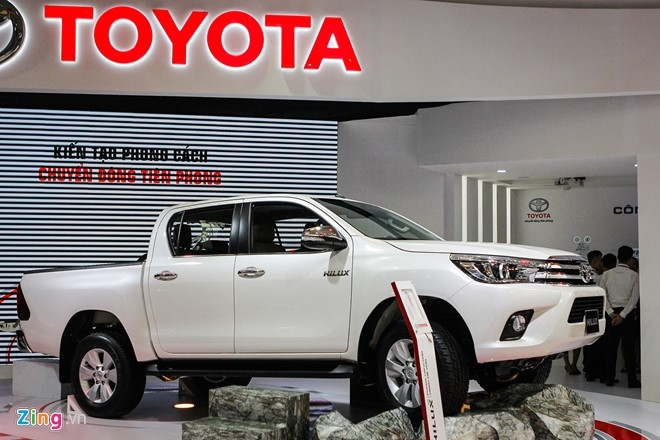 Toyota Hilux 2016 dung dong co moi tai Viet Nam hinh anh 2