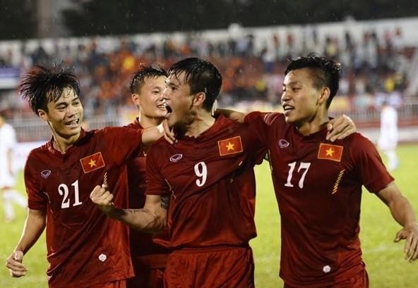Tinh thần tuyển Việt Nam đang lên cao sau chiến thắng thuyết phục trước CHDCND Triều Tiên.