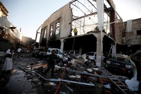 Yemen: Không kích trúng một lễ tang, ít nhất 160 người thiệt mạng