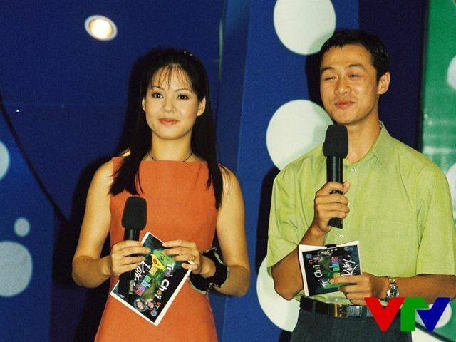 Ảnh độc cách đây hơn 10 năm của bộ đôi MC Anh Tuấn - Diễm Quỳnh - Ảnh 3.