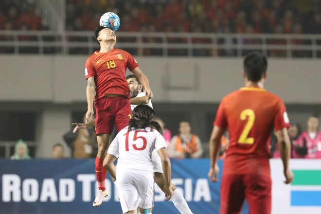 'Ho giay' Trung Quoc mong tuong o World Cup hinh anh 1