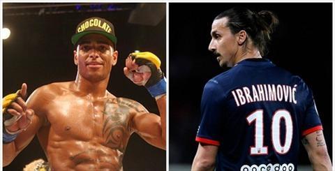 Ibrahimovic nhan duoc loi thach dau cua sat thu UFC hinh anh 2
