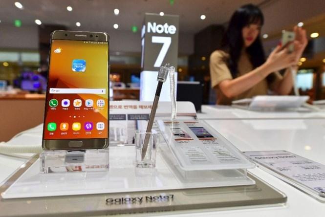 Số phận của Galaxy Note 7 vẫn còn là một ẩn số /// Ảnh: AFP