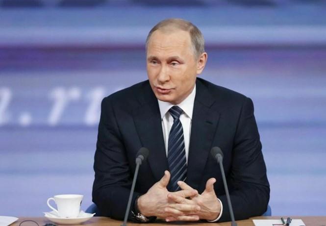 Tổng thống Nga Vladimir Putin /// Reuters