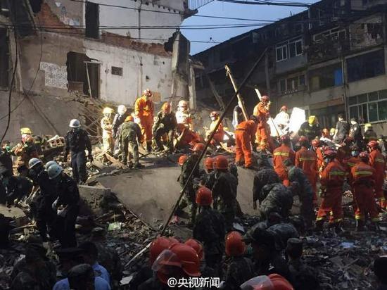 Trung Quốc, Chiết Giang, sập nhà, chết người, thương vong