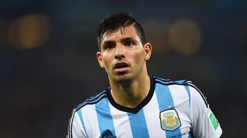 Aguero xác nhận có thể ra sân ở trận gặp Paraguay