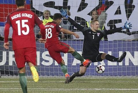 Silva ghi bàn thắng mở tỷ số trận đấu