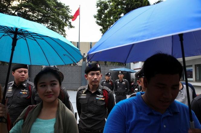 Bắc Kinh nói không ép Thái Lan trục xuất Hoàng Chi Phong