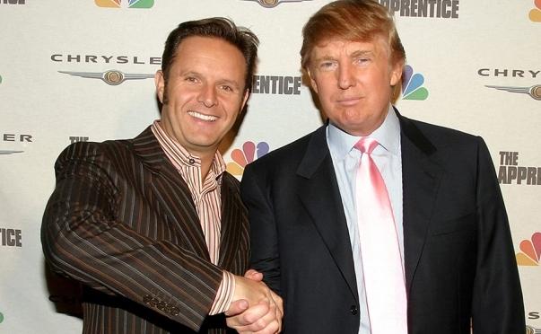 Mark Burnett (phải) và tỷ phú Donald Trump. (Ảnh: NBC)