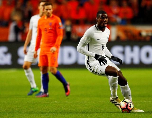 Pogba đã có một trận đấu thăng hoa trước Hà Lan /// Reuters