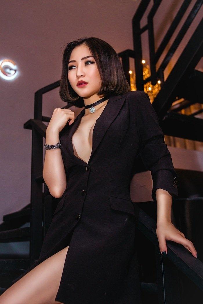 het mot khong noi y, huong tram lai khoe dang nuot voi bikini hinh anh 7