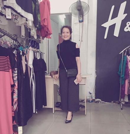 Chị Nhung hiện làm việc tại một cửa hàng thời trang tại Hải Phòng.