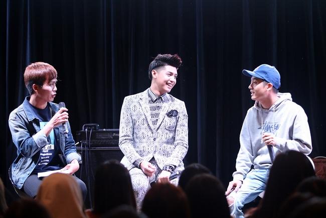 Là ca sĩ Việt đầu tiên tổ chức họp fan ở Hàn, Noo Phước Thịnh vẫn được hàng trăm khán giả vây kín ủng hộ - Ảnh 9.