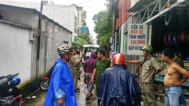 Nổ bình gas trong khu dân ở Sài Gòn, 1 người tử vong - Ảnh 1.