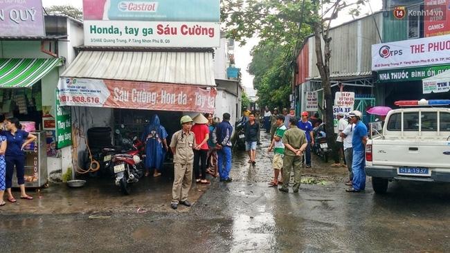 Nổ bình gas trong khu dân ở Sài Gòn, 1 người tử vong - Ảnh 2.