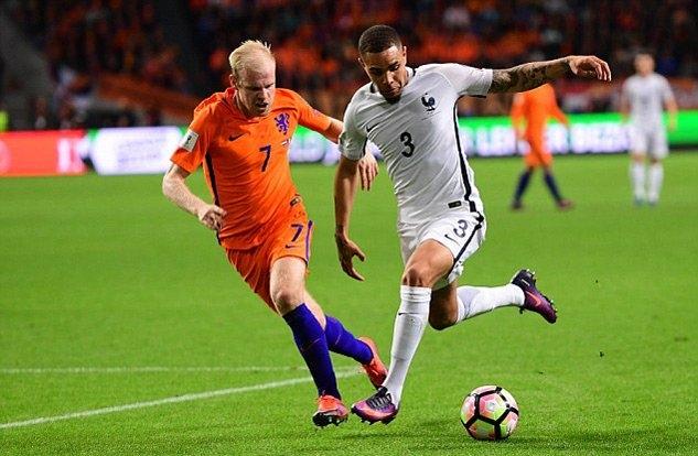 Hà Lan vs Pháp, Pháp, Hà Lan, Paul Pogba, vòng loại World Cup 2018