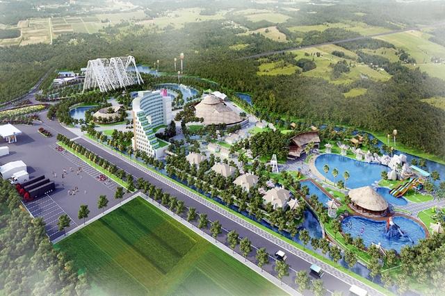 Phối cảnh Khu dừng nghỉ và giới thiệu sản phẩm du lịch Quảng Ninh (ảnh báo Quảng Ninh)