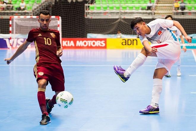 Sieu pham cua Minh Tri dep thu nhi futsal World Cup 2016 hinh anh 1