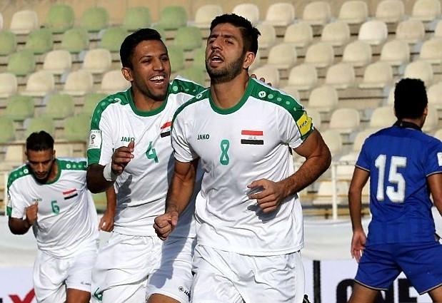 Iraq có 3 điểm đầu tiên tại vòng loại World Cup 2018 giai đoạn thứ 3 sau chiến thắng nhẹ nhàng trước Thái Lan.