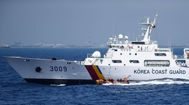 Một tàu tuần duyên Hàn Quốc. (Ảnh: AFP)