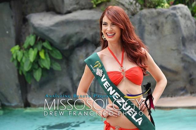 Thí sinh Venezuela - một trong những gương mặt được đánh giá cao nhất tại cuộc thi Hoa hậu Trái đất năm nay.