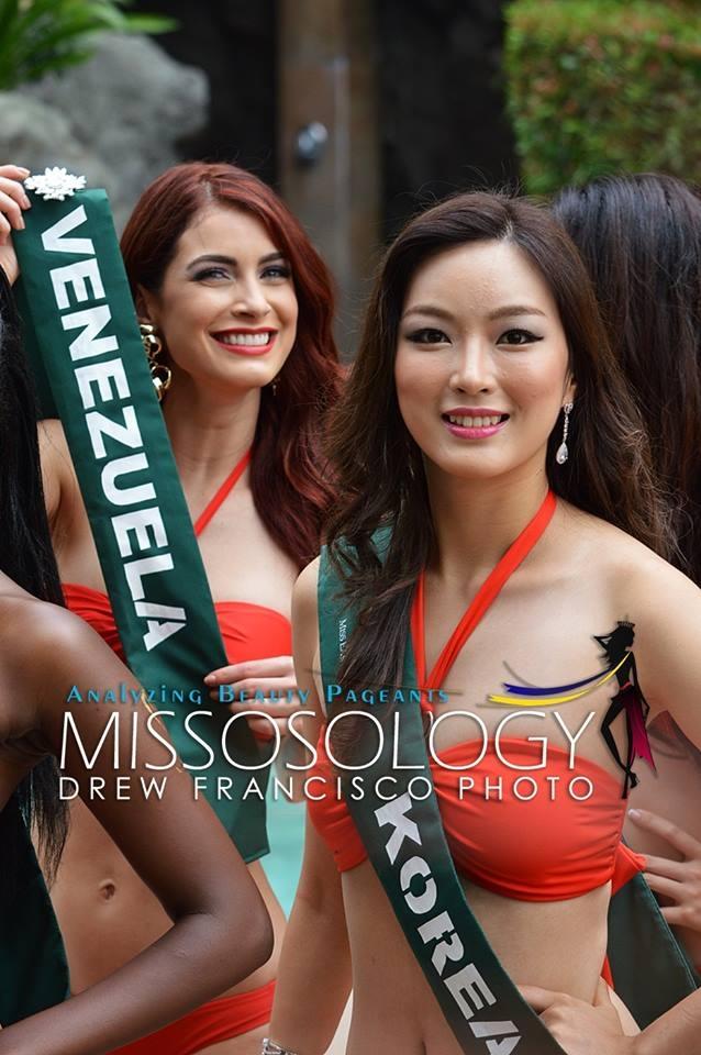 Hoa hậu Hàn Quốc (phải)