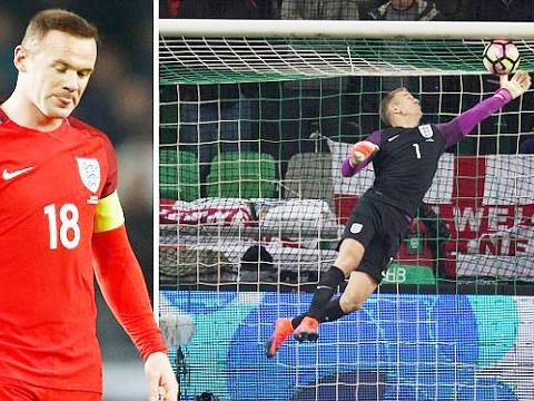 Slovenia 0-0 Anh: Joe Hart tỏa sáng, Tam sư thoát hiểm
