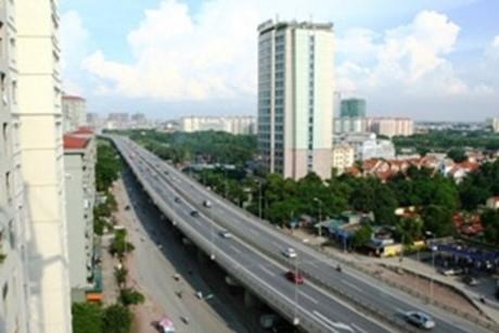 Kết quả hình ảnh cho Xây đường bộ trên cao từ cầu Vĩnh Tuy đến ngã tư Sở