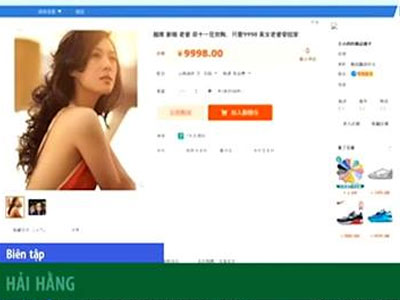 Clip: Cô dâu Việt bị rao bán trên mạng Taobao ở Trung Quốc